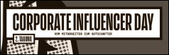 2. Corporate Influencer Day in Berlin